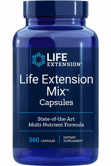 Life Extension Mix (360 caps)