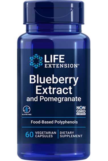 Amerikaanse Blauwe Bes Extract (60 veg caps)