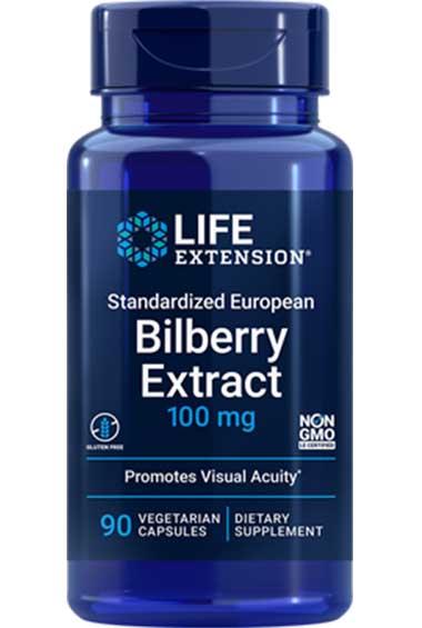 Blauwe Bosbes Extract (90 veg caps)