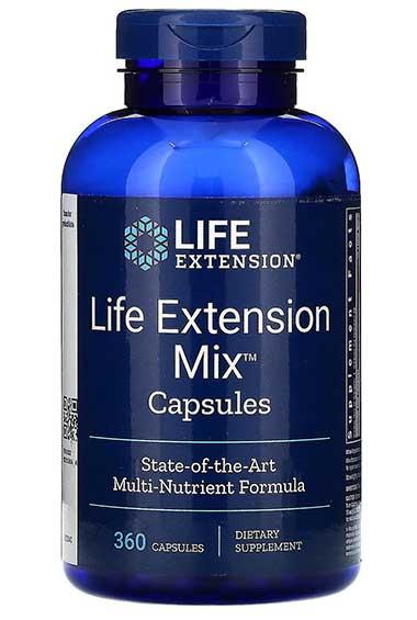 Life Extension Mix (360 caps)