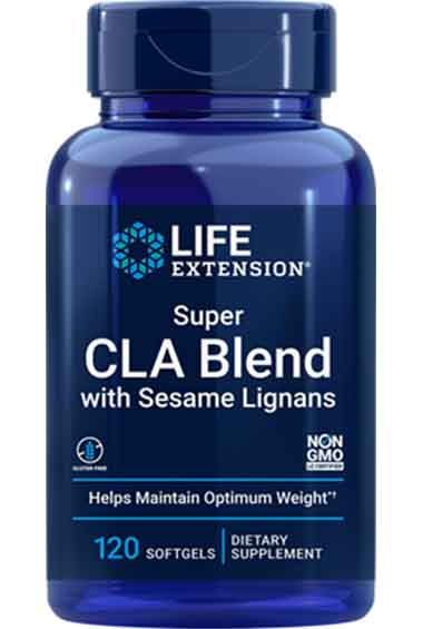 Super CLA Blend + Sesamlignanen (120 softgels)