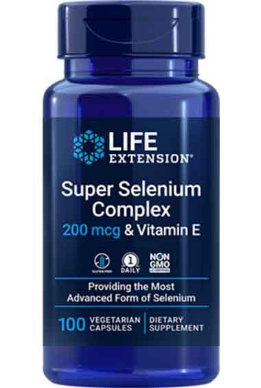Super Selenium + Vitamine E (100 caps)