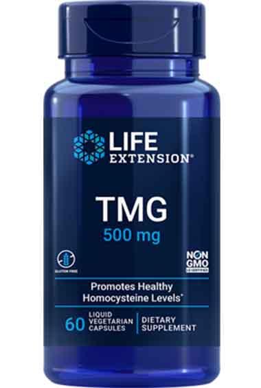 TMG - Trimethylglycine (60 caps)