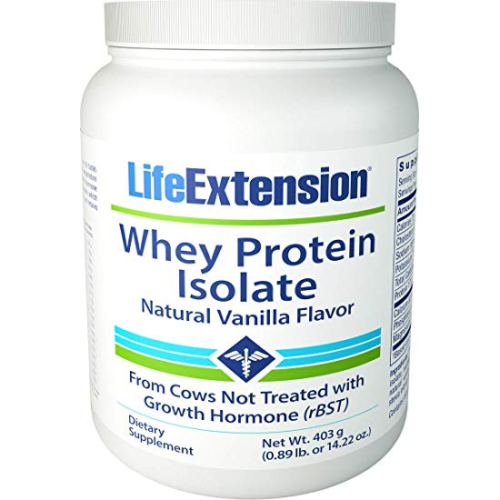 Whey protein isolate vanilla