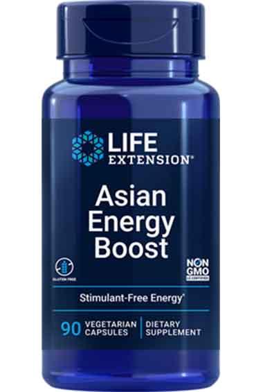 Asian Energy Boost (90 veg caps)