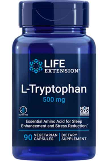 L-Tryptofaan (90 veg caps)