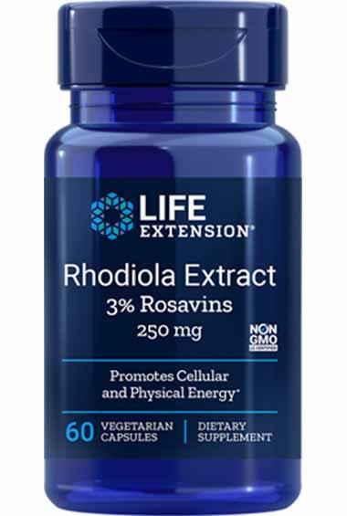 Rhodiola Extract (60 veg caps)