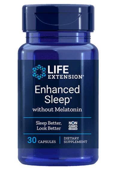 Enhanced Sleep zonder Melatonine (30 caps)