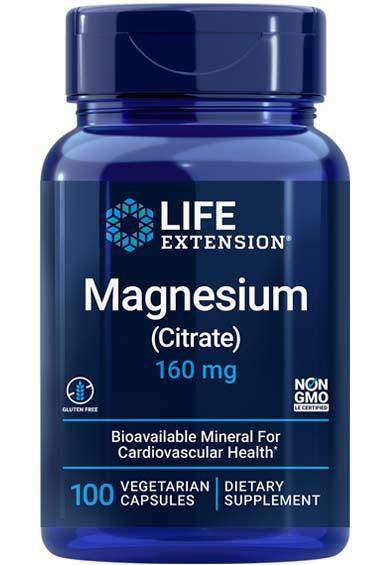 Magnesium Citraat (100 veg caps)