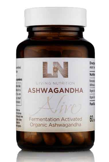 Ashwagandha Alive - Gefermenteerde Ashwagandha Bio (60 caps)