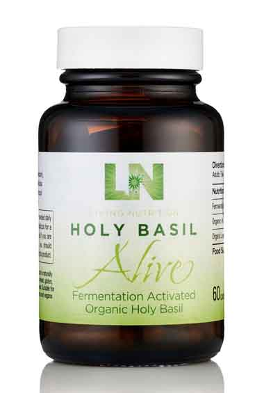 Holy Basil Alive - Gefermenteerde Heilige Basilicum Bio (60 caps)