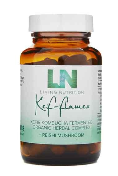 Kef-Flamex Gefermenteerde Kruiden + Reishi Bio (60 caps)