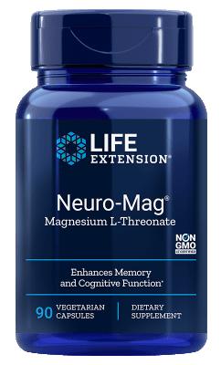 Neuro-Mag Magnesium L-Threonate (90 veg caps)