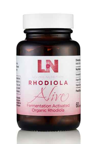 Rhodiola Alive - Gefermenteerde Rhodiola Bio (60 caps)