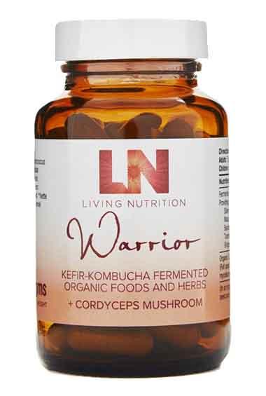 Warrior Gefermenteerde Kruiden + Cordyceps Bio (60 caps)