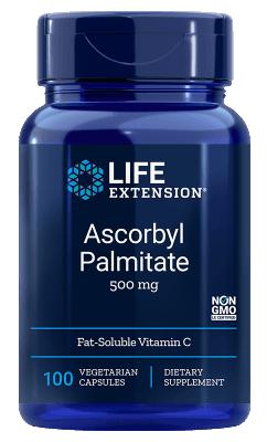 Vitamine C uit Ascorbylpalmitaat (100 veg caps)