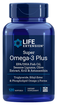 Super Omega-3 Plus met Krill & Astaxanthine (120 softgels)