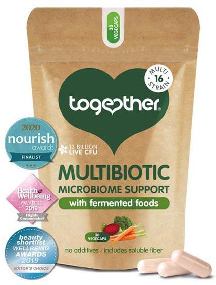 Multibiotisch Gefermenteerde Voeding (30 caps)