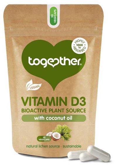 Vegan Vitamine D3 (30 caps)