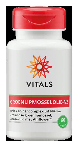 Vitals Nieuw-Zeelandse Groenlipmosselolie (60 softgels)