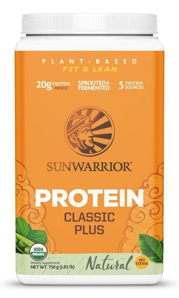 Sunwarrior Biologische Proteïne - Naturel (750 g)