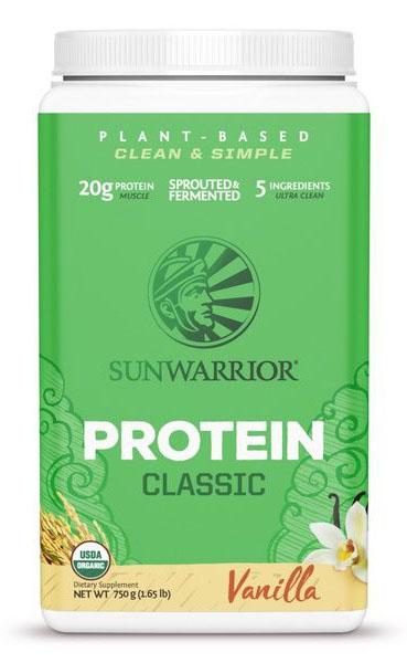 Sunwarrior Classic Proteïne - Vanillesmaak (750 g)