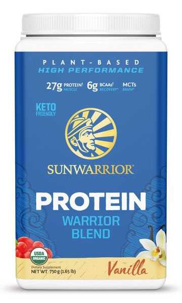 Sunwarrior Blend Proteïne - Vanillesmaak (750 g)