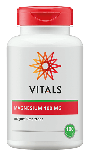 Vitals Magnesium Citraat (100 caps)