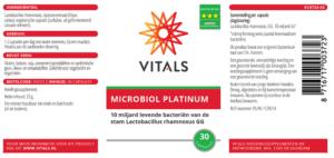 Vitals Microbiol Platinum (30 caps)