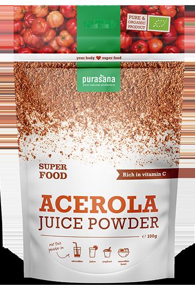 Purasana Acerola Juice Powder (100 g)