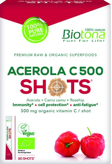 Acerola C500 Shots (20 x 2 g)