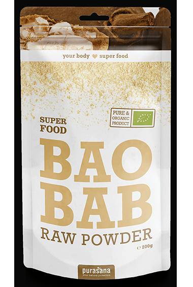 Purasana Baobab Raw Powder (200 g)