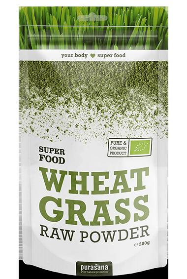 Purasana Wheat Grass Raw Powder (200 g)