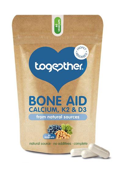 Bone Aid - Calcium, D3 en K2 (60 caps)