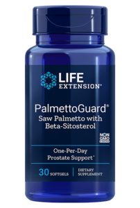 PalmettoGuard met Zaagpalm & Bèta-Sitosterol (30 softgels)