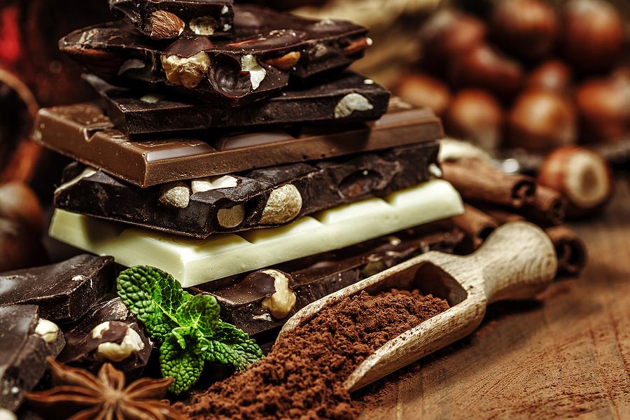 Chocolade en puisten