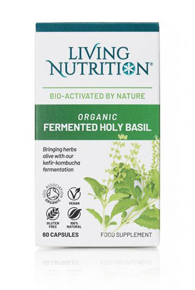 Fermented Herbs - Heilige Basilicum Bio (60 caps)