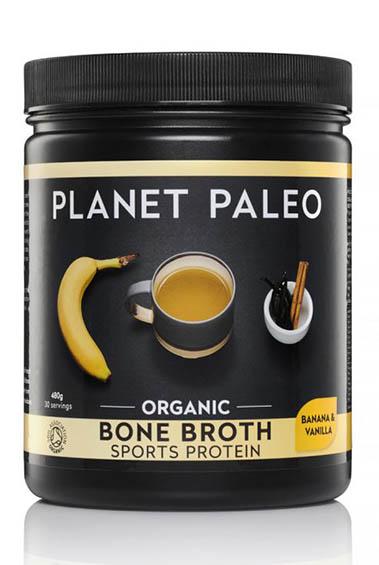 Bone Broth - Sports Protein - Vanilla & Banana (30 porties)
