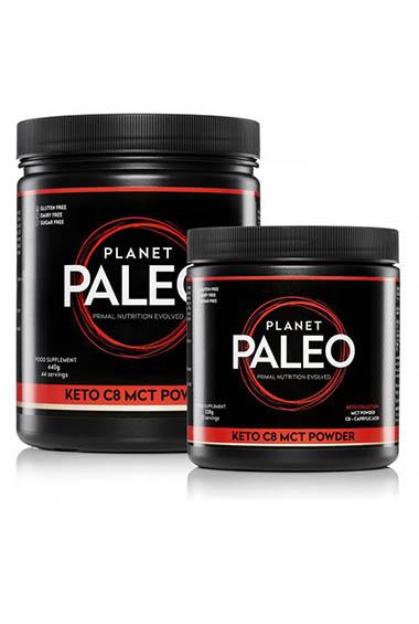 Planet Paleo - Keto C8 MCT Poeder (220 g)